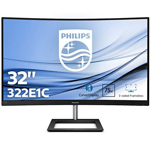"""Philips Monitor 31.5"""" Curvo FHD FreeSync, FlickerFree,"""