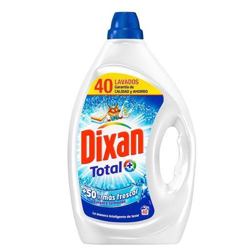 40 lavados de Dixan por solo 2,10€ y Pañales Dodot al 55% descuento