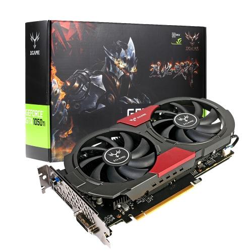 Tarjeta Gráfica NVIDIA GeForce GTX iGame 1050Ti GPU 4GB 128bit Gaming 4096M GDDR5