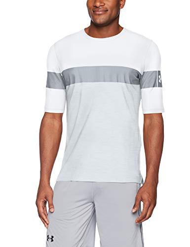 TALLA XXL - Under Armour Sportstyle Football tee Camiseta de Manga Corta, Hombre