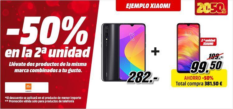 2 x Xiaomi Mi 9 Lite por 426 € / 213 c/u