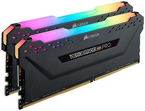 Corsair Vengeance RGB Pro 32 GB (2 x 16 GB), DDR4, 3200 MHz, C16, XMP 2.0