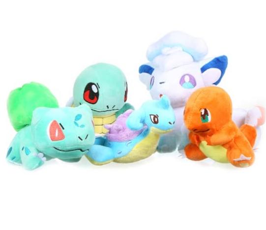 Peluches Pokémon varios modelos solo 0.9€