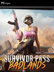 PUBG: Survivor Pass: Badlands (es un DLC)