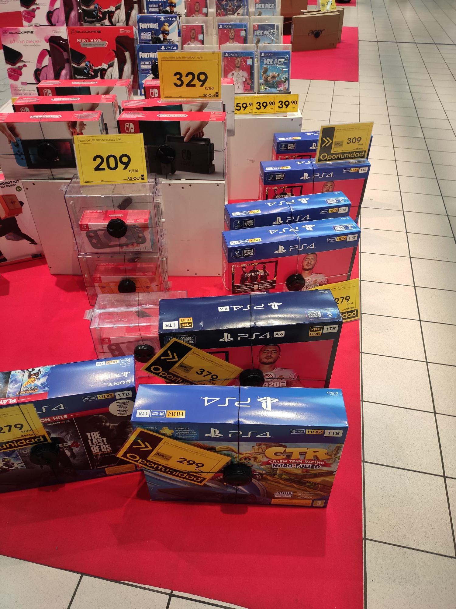 PS4 Slim 1TB + FIFA 20 + 2 mandos