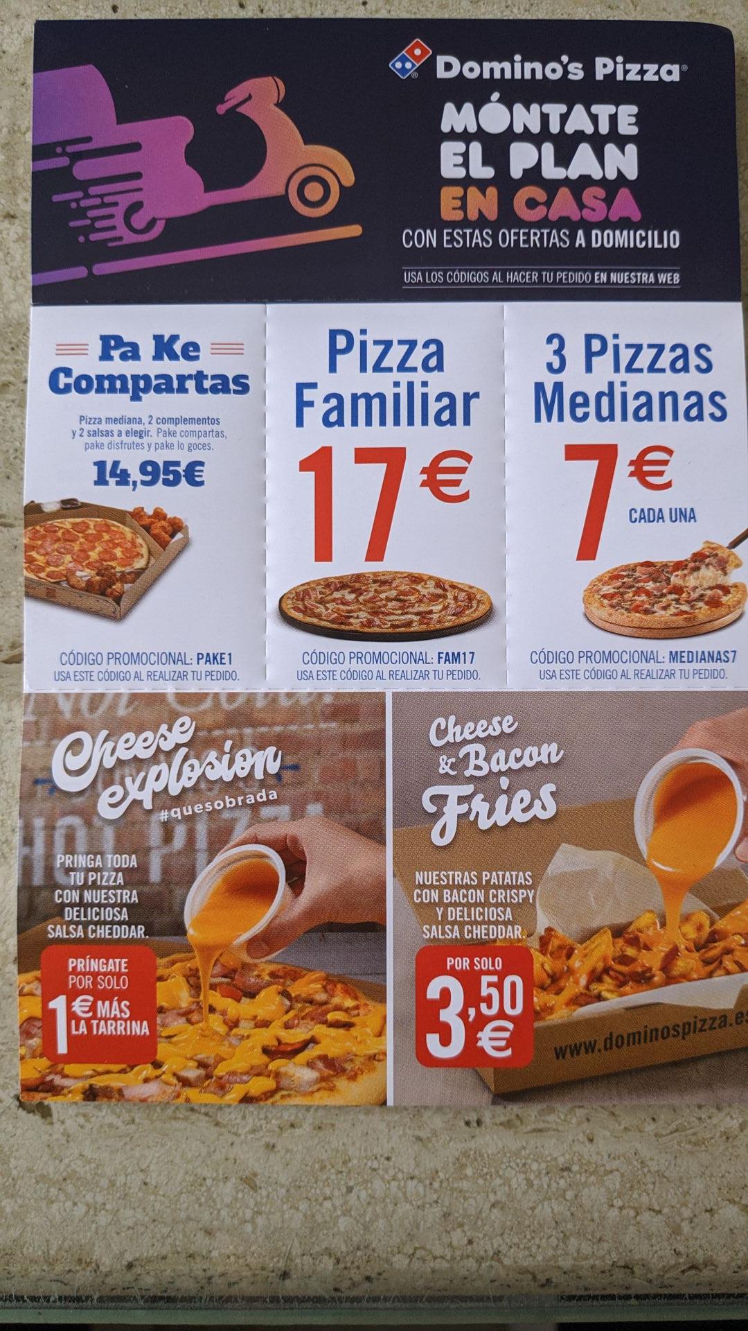 Domino's Pizza Cupones a Domicilio