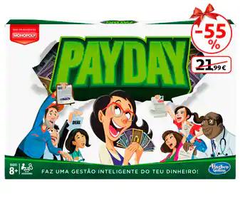 Llega a fin de mes: juego de mesa Payday en Alcampo