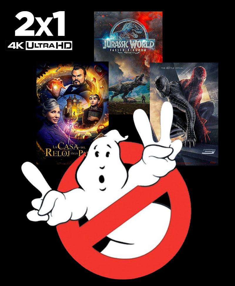 2x1 en Blu Ray 4K UHD en El Corte Inglés