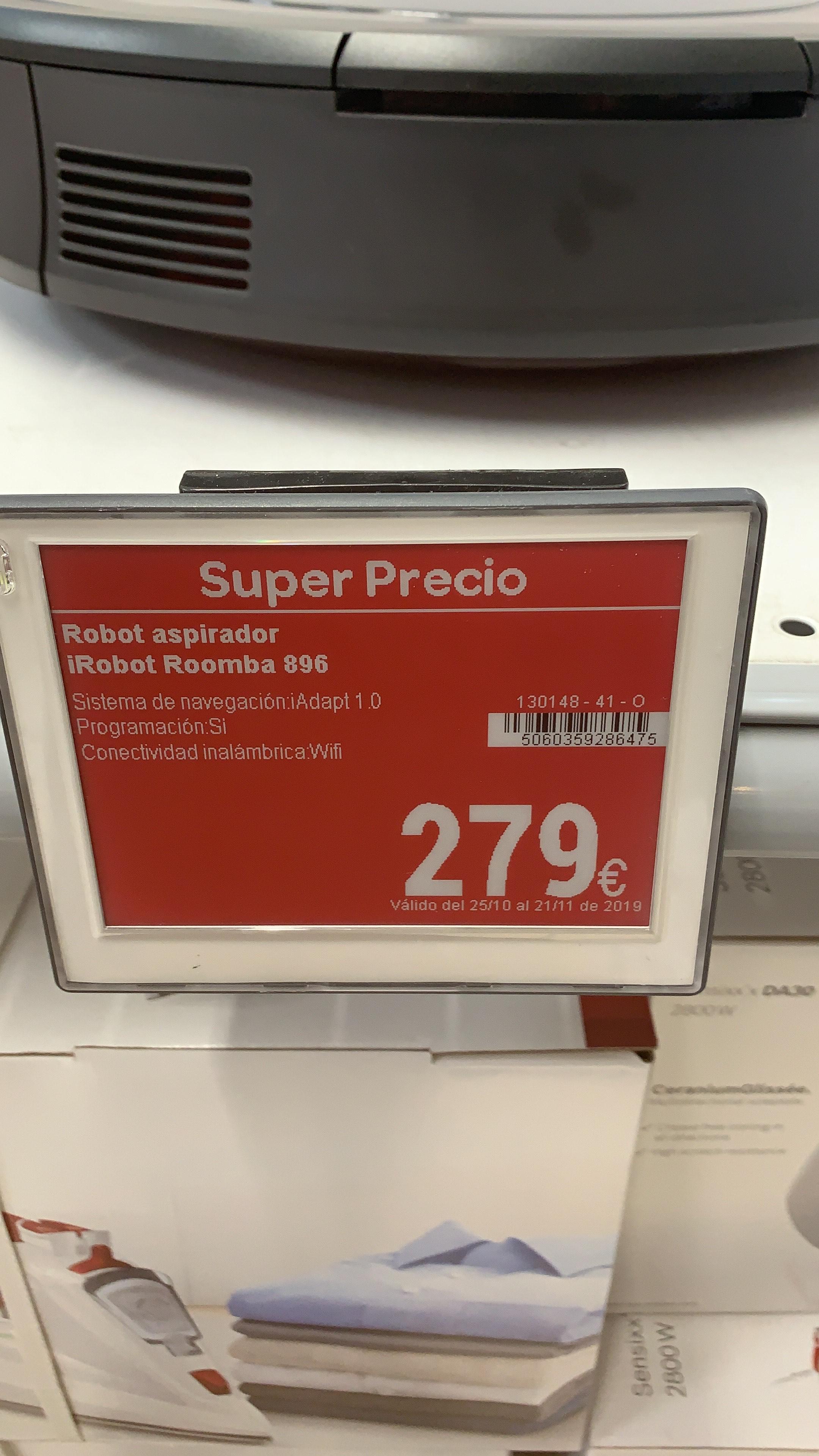 Roomba 896 (Carrefour san fernando de henares)