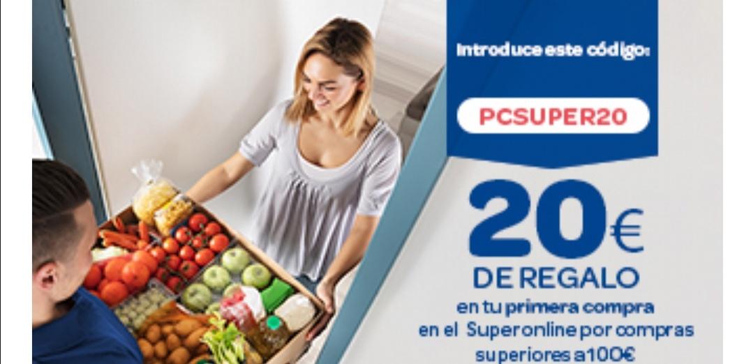 Carrefour 20€ De regalo en tu primera compra