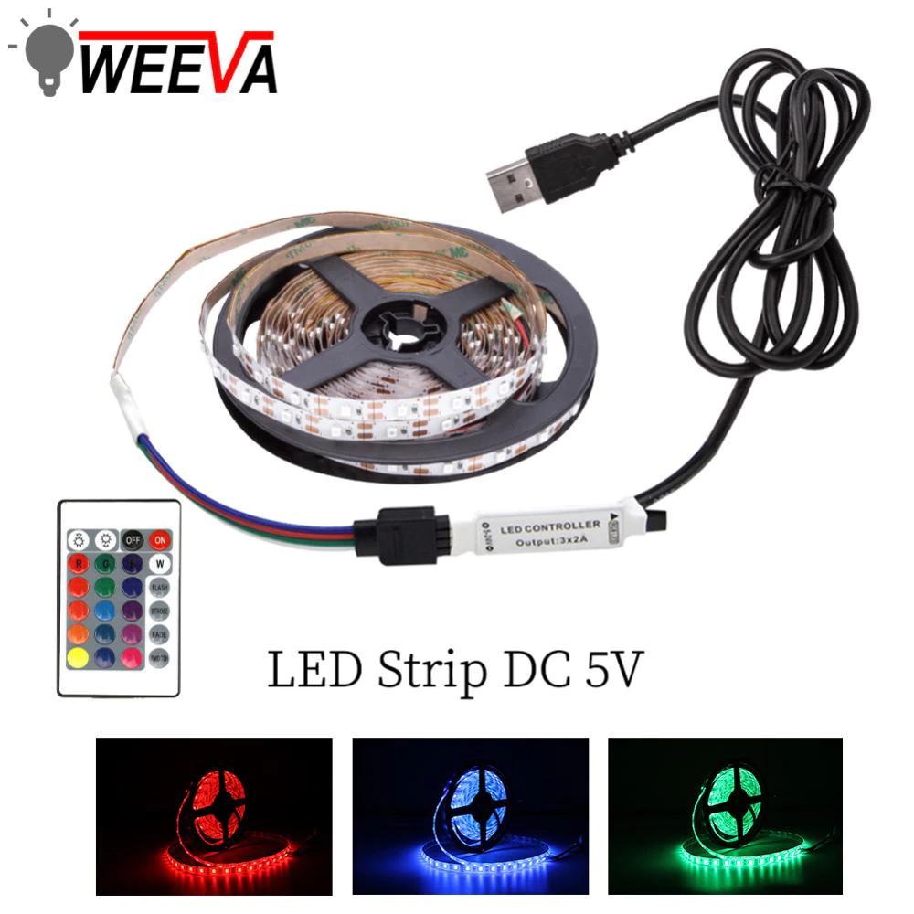 Tira LED RGB - USB 5V - 5m