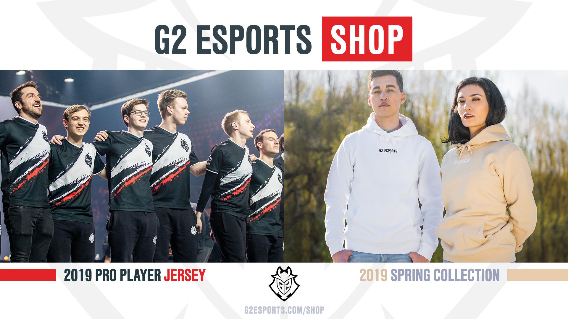20% En la pagina de G2 Esports Este finde semana