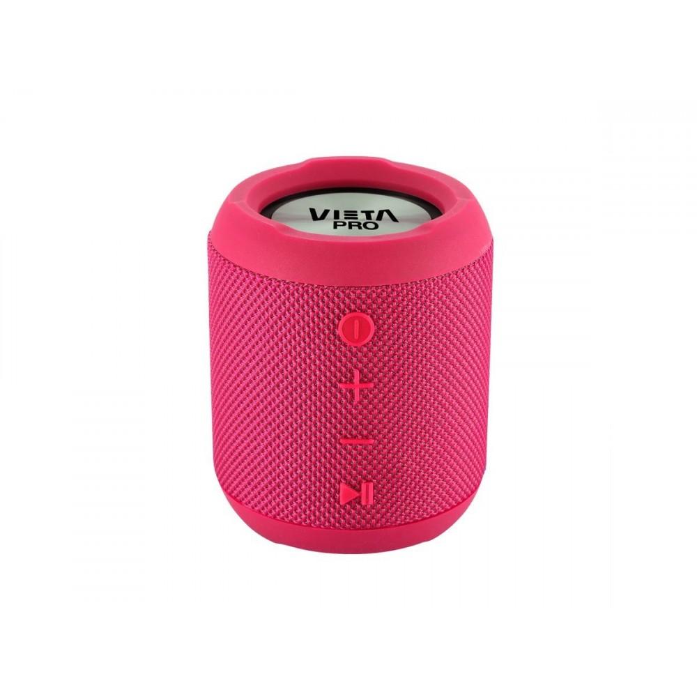 Vieta Pro Handy - Altavoz Inalámbrico Portátil Bluetooth, Resistente Al Agua, Dual Pair Rosa