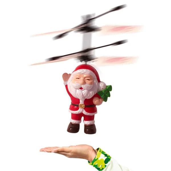 Papá Noel con vuelo por inducción