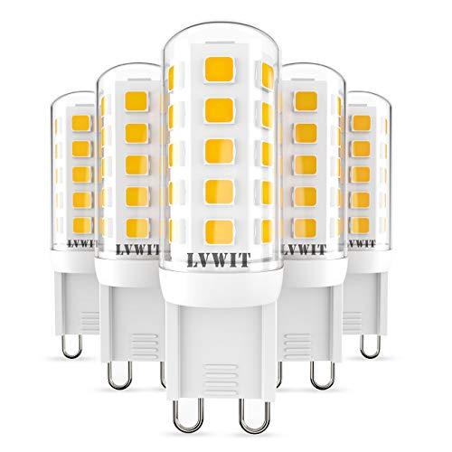 5X Bombillas LED G9-3.5W de LVWIT