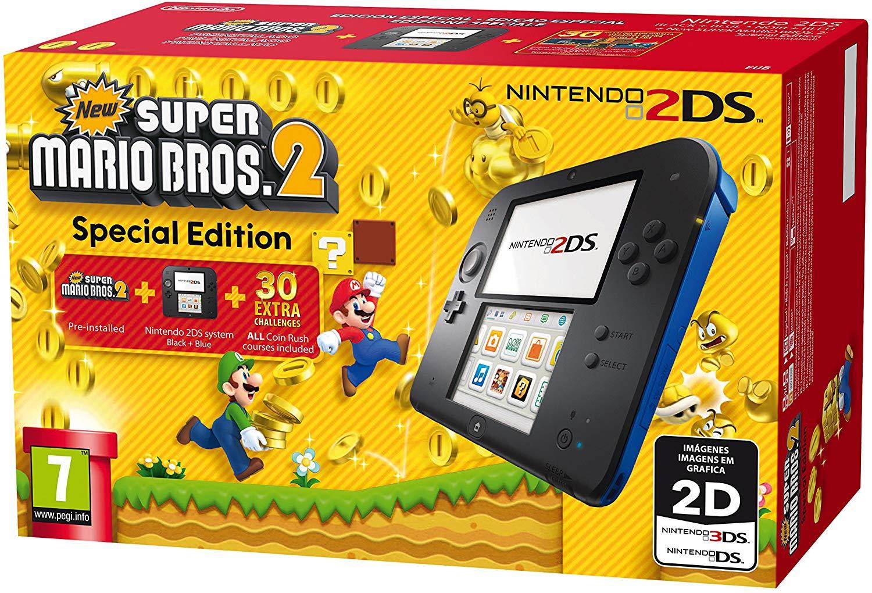 Nintendo 2DS juego a elegir solo 69.9€