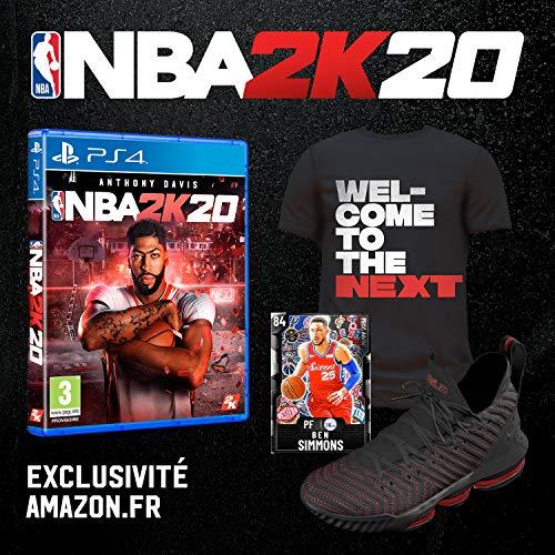 NBA 2K20 PS4 +DLC exclusivo solo 31.5€