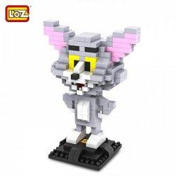 """Figura de construcción tipo LEGO """"TOM Y JERRY"""" 290 piezas (TOM)"""