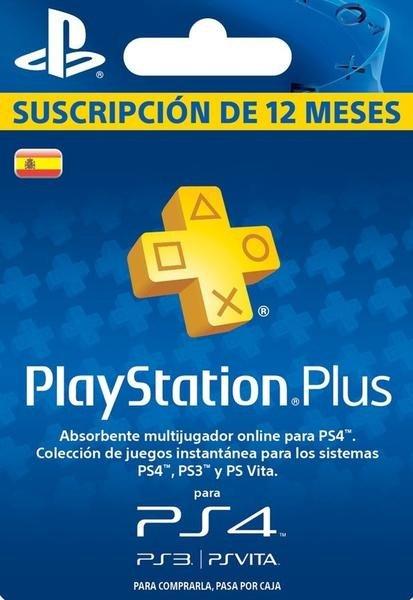 PLAYSTATION PLUS: SUSCRIPCIÓN 12 MESES