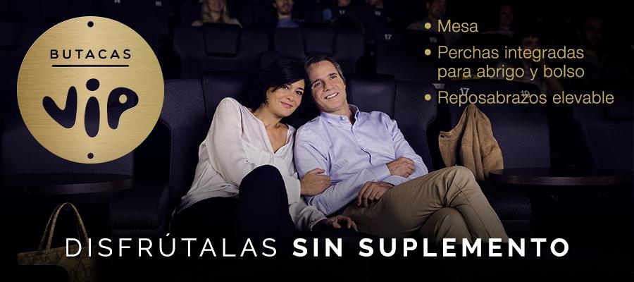 Butaca VIP Kinepolis a precio Fiesta Cine