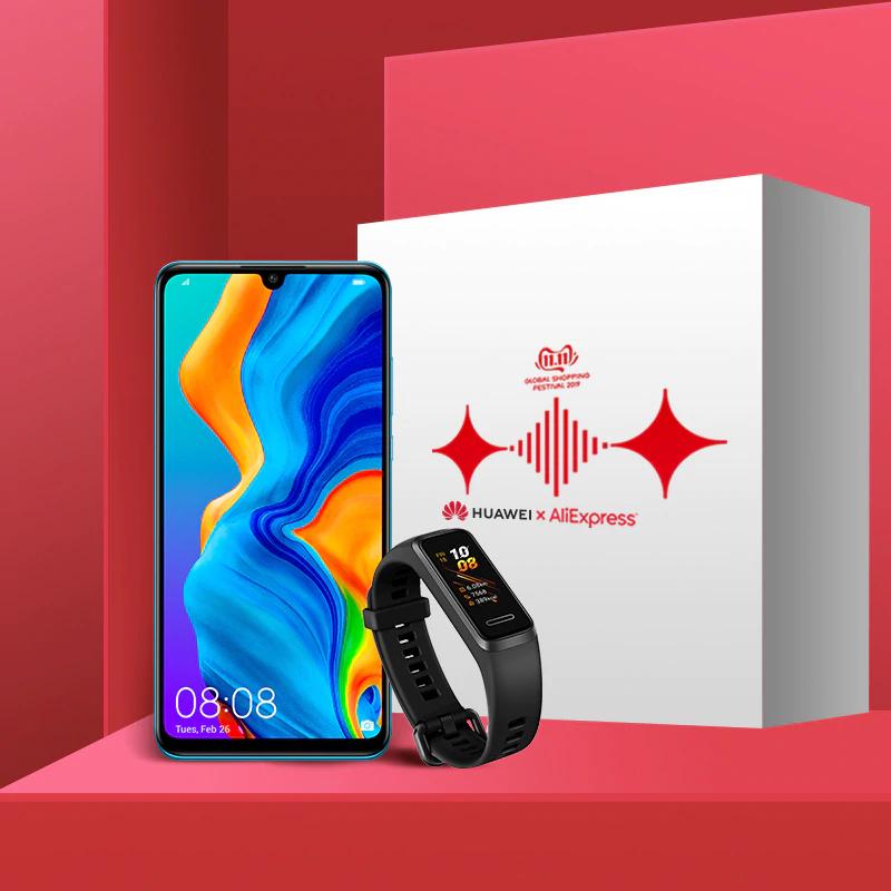 Versión Global Huawei P30 Lite 4GB 128GB Smartphone+ HUAWEI BAND 4 [11/11]