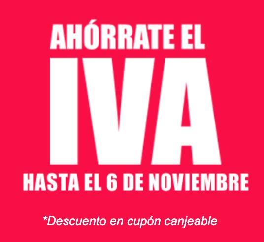 Ahórrate el IVA en Electrónica y Electrodomésticos! (Carrefour)