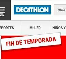 FIN TEMPORADA  DECATHLON