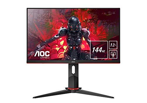 "Monitor AOC Gaming 24"" Full HD, IPS, 1ms, AMD FreeSync, 144Hz con altavoces"
