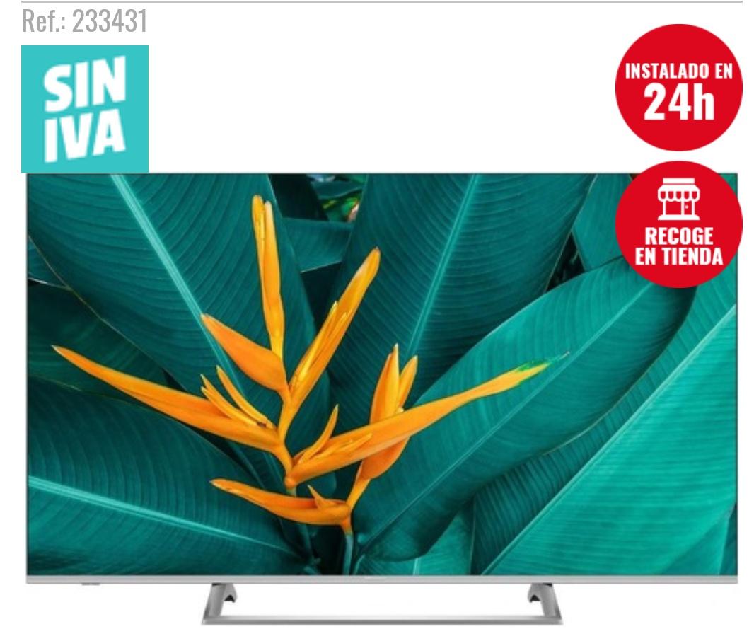"TV Hisense 55"" 55B7500 - 4K UHD, Smart TV, HDR10+, HLG, Dolby Vision, Depth Enhancer, 4K Upscaler"