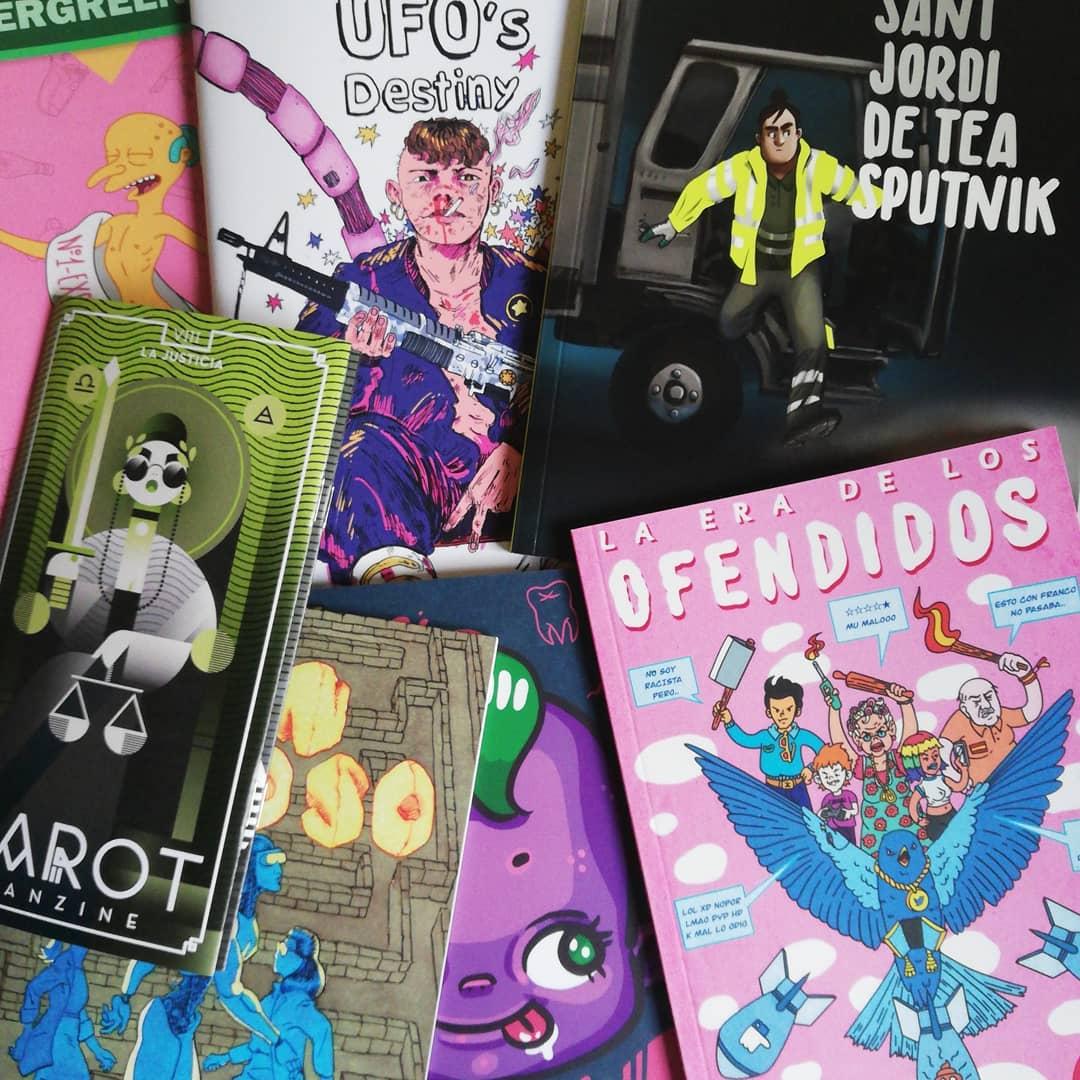 Descuento en cómics y fanzines
