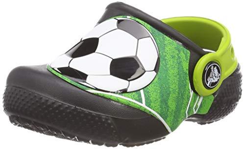 TALLA 20/21 (PRODUCTO PLUS) - Crocs Fun Lab Football Clog, Zuecos Unisex Niños