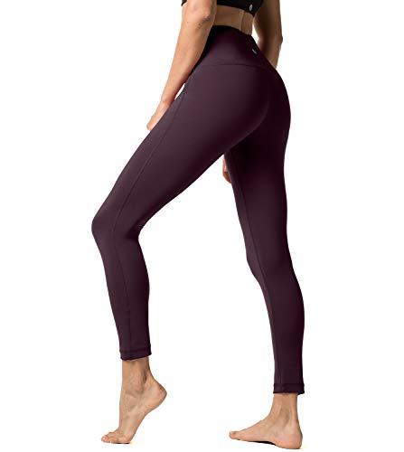 LAPASA Pantalón Deportivo de Mujer Cintura Alta Malla para Running Yoga y Ejercicio. L01