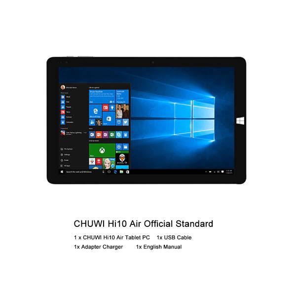 Chuwi Hi10 Air - 4/64GB con Windows 10 (Desde España)