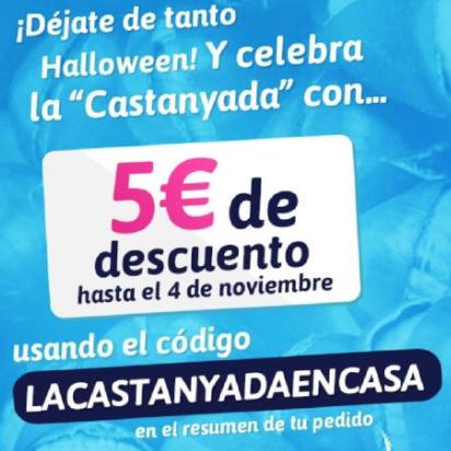 -5€ en FontVella por compras de 35€ solo en Barcelona