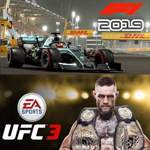 XBOX: Juega gratis F1 2019 y UFC 3