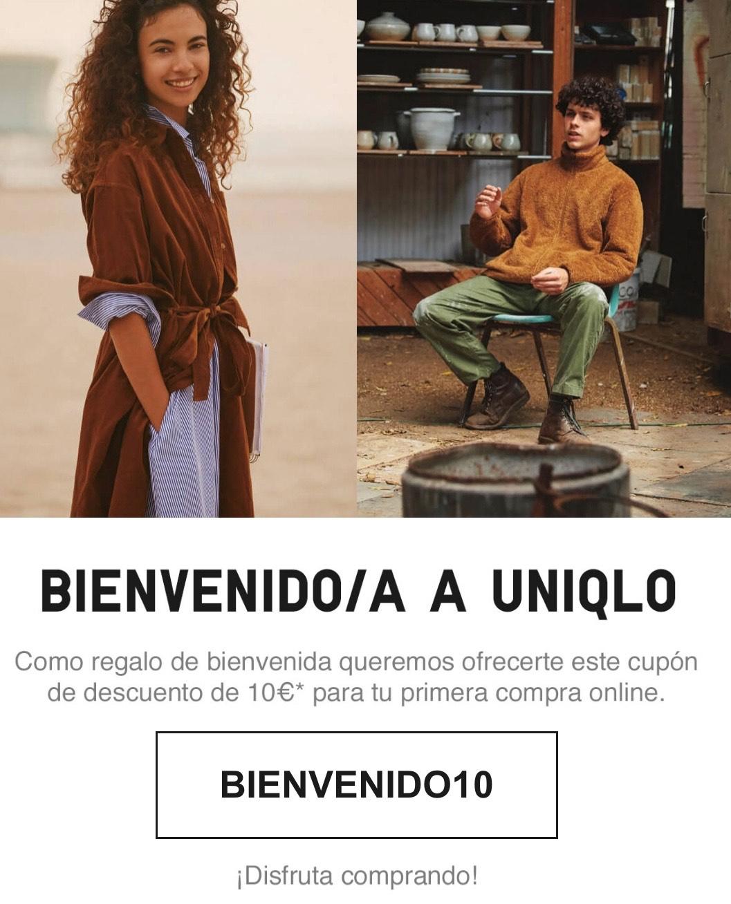 UNIQLO - 10€ de descuento y envío gratis