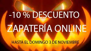 10% DE DESCUENTO HALLOWEEN