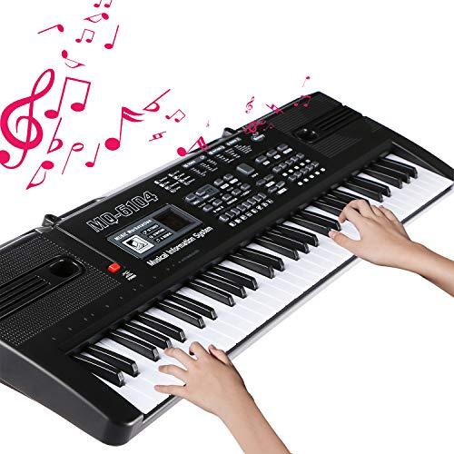 Teclado Electrónico Piano 61 Teclas en oferta flash