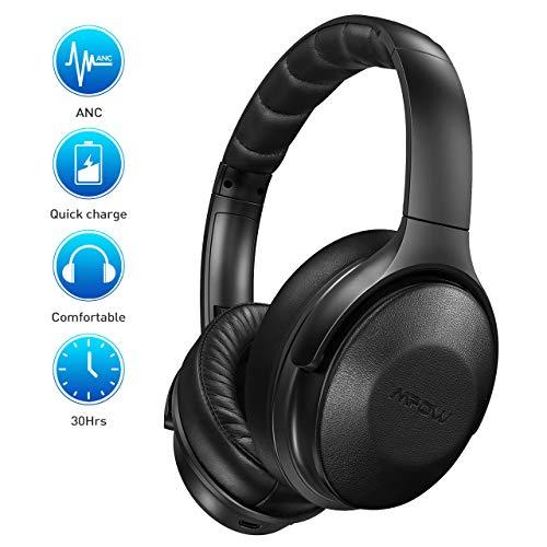 Mpow H17 Auriculares Diadema Bluetooth con Cancelación de Ruido