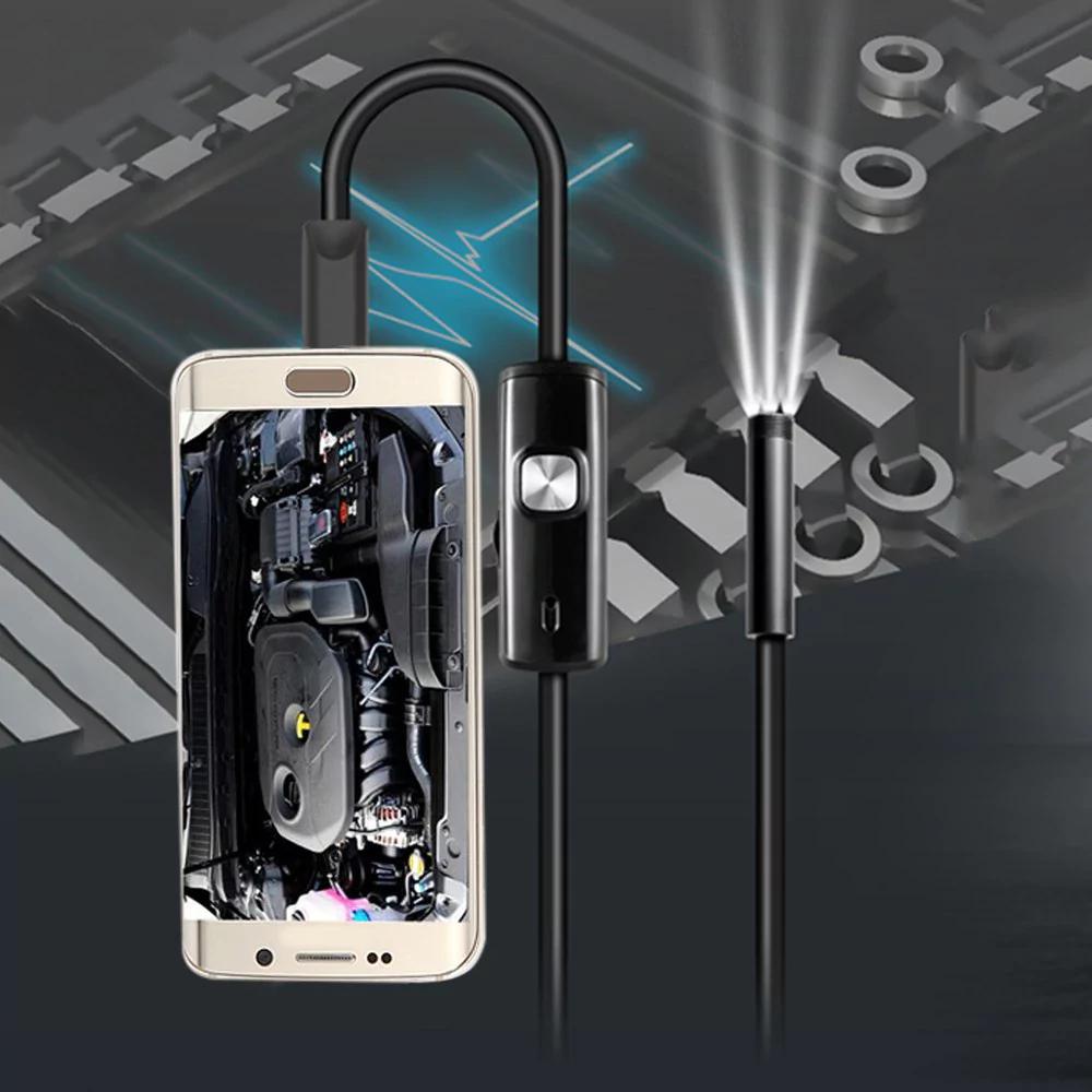 Mini Endoscopio Android impermeable IP67 3.5m - cámara de inspección de tubos