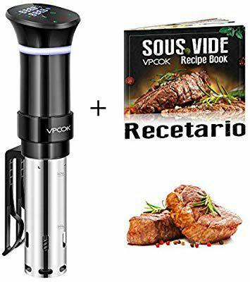 Sous Vide Roner - Máquina de Cocción al Vacío de Acero Inoxidable + Recetario