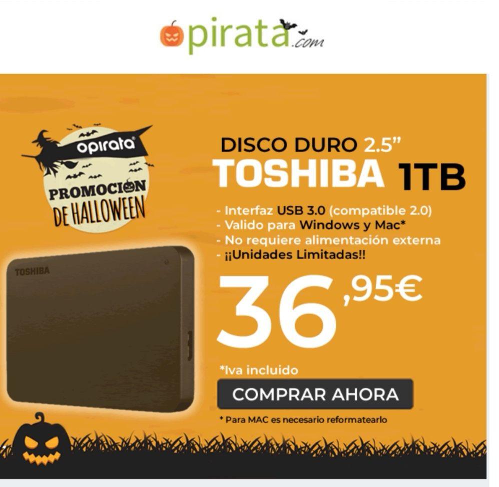 """Disco duro 1tb 3.0 2.5"""""""