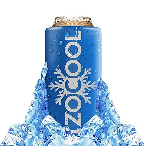 Izocool mantiene su cerveza u otra bebida fresca por hasta 90 minutos. En casa o en el jardín, en el bar, en una fiesta de cumpleaños