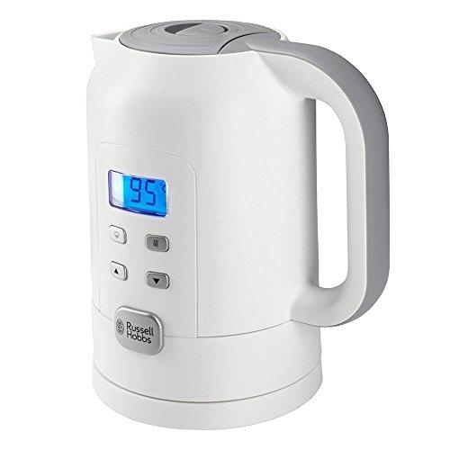Russell Hobbs Precision Control - Hervidor de Agua Eléctrico (1,7 litros, Plástico, 2200 W