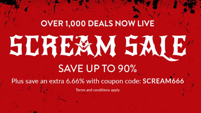 Halloween: 90% en juegos de Steam (Fanatical)