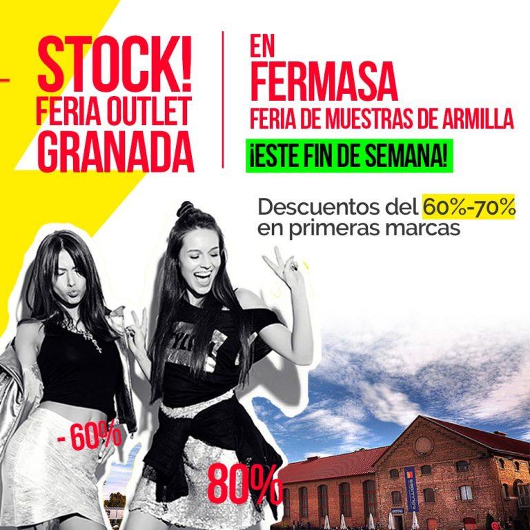 Feria Outlet en Granada - 60 - 70 - 80 % de descuento