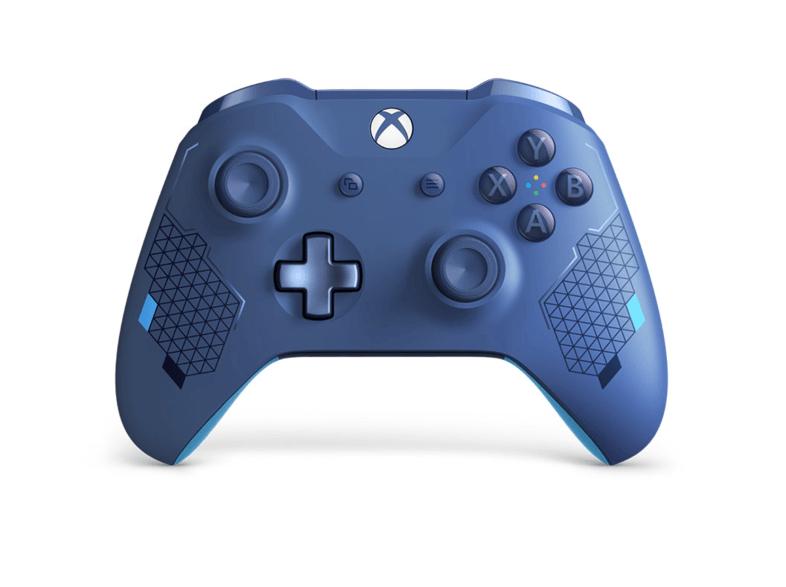 Mando Xbox One inalámbrico, blue special edition.