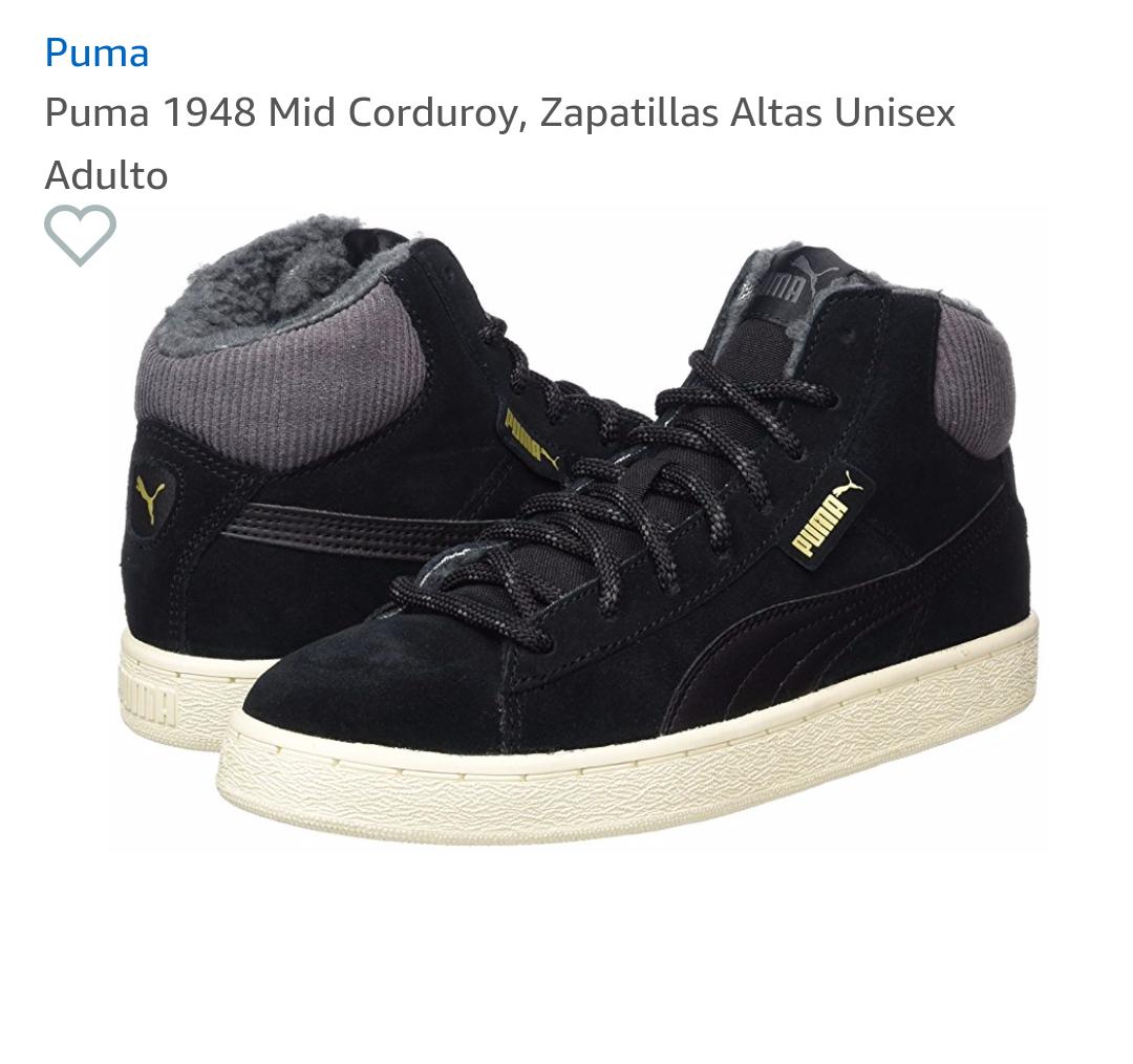 Puma 1948 Mid Corduroy Boots black