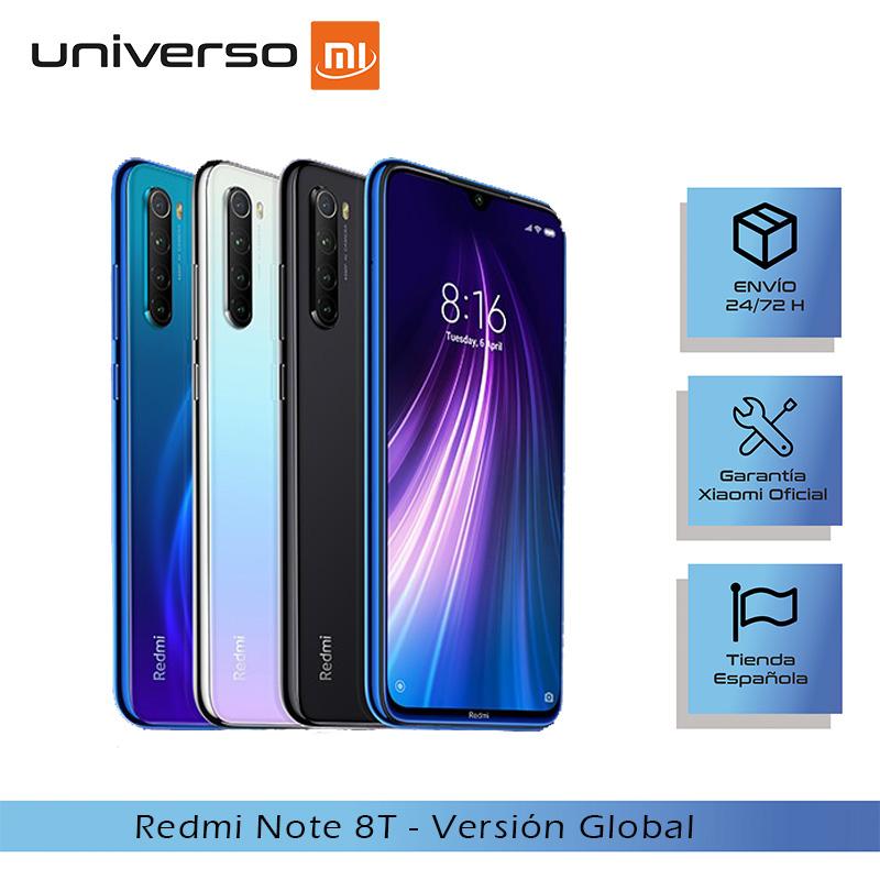 """[Versión Global] Redmi Note 8T de 6,3"""" FHD + 4GB RAM,64GB (desde España)"""
