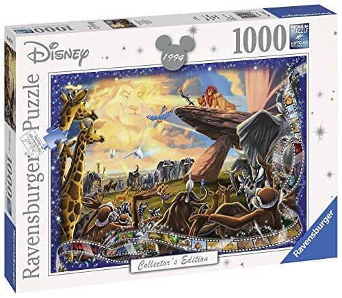 Puzzle 1000 piezas Rey Leon - COMO NUEVO